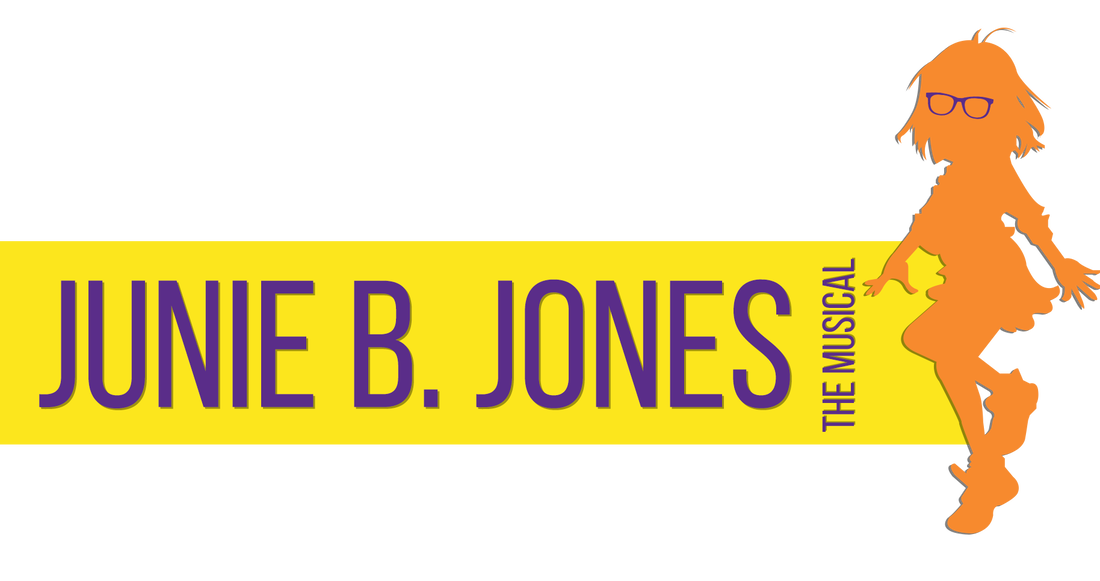 Junie B. Jones the Musical Logo